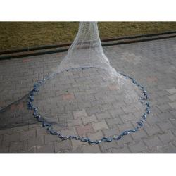 Rzutki sieciowe z grubej żyłki